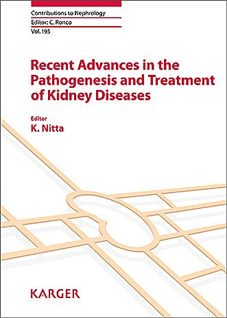 Portada del libro 9783318063493 Recent Advances in the Pathogenesis and Treatment of Kidney Diseases