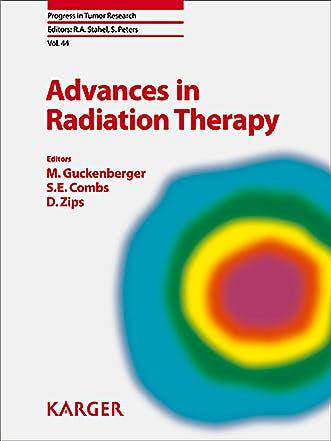 Portada del libro 9783318063615 Advances in Radiation Therapy