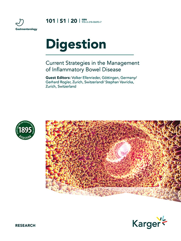 Portada del libro 9783318066937 Current Strategies in the Management of Inflammatory Bowel Disease (Digestion Vol. 101, Suppl. 1, 2020)