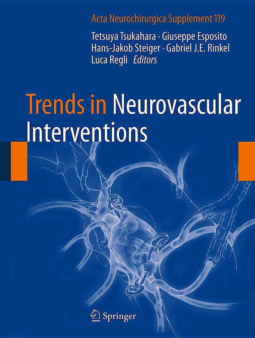 Portada del libro 9783319024103 Trends in Neurovascular Interventions (Acta Neurochirurgica Supplement, Vol. 119)