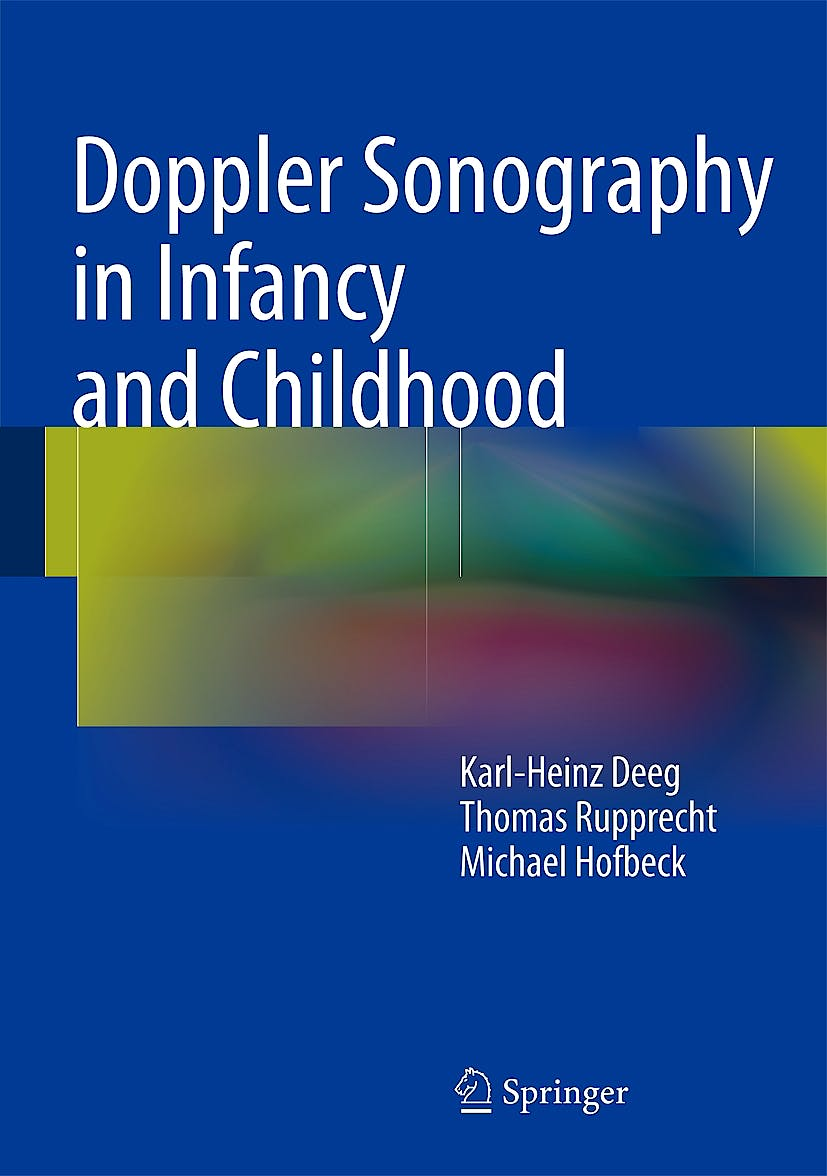 Portada del libro 9783319035055 Doppler Sonography in Infancy and Childhood