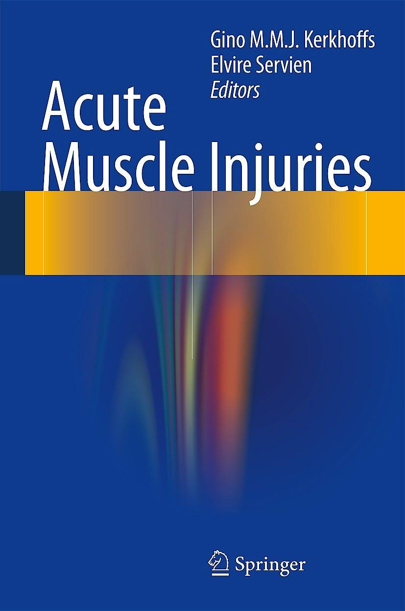 Portada del libro 9783319037219 Acute Muscle Injuries