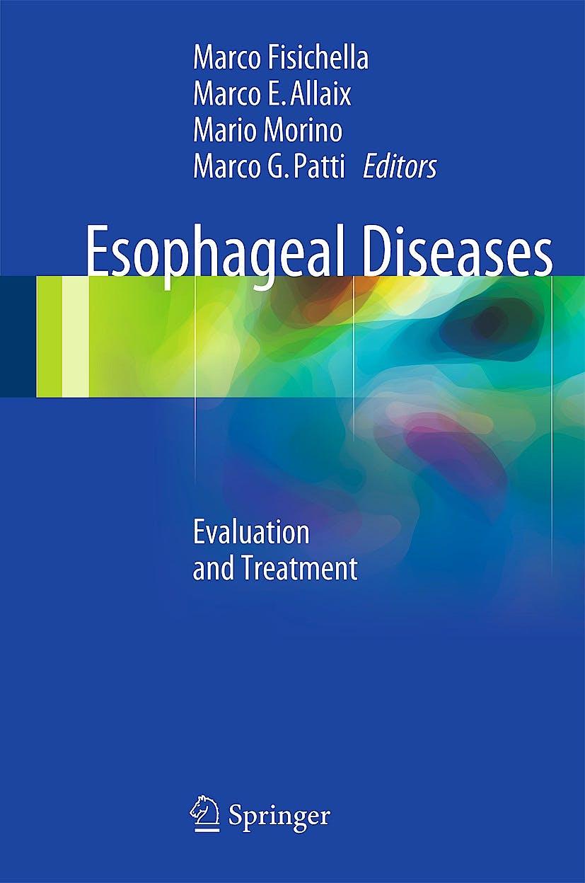 Portada del libro 9783319043364 Esophageal Diseases. Evaluation and Treatment