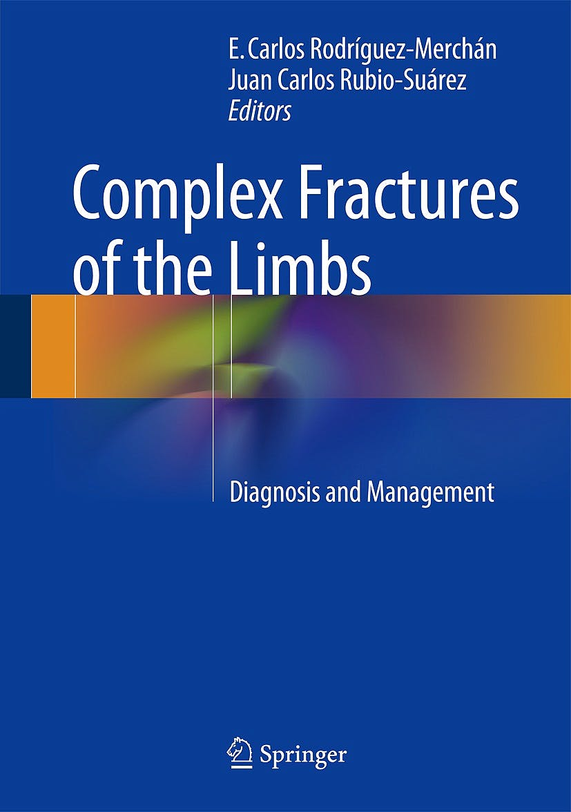 Portada del libro 9783319044408 Complex Fractures of the Limbs. Diagnosis and Management