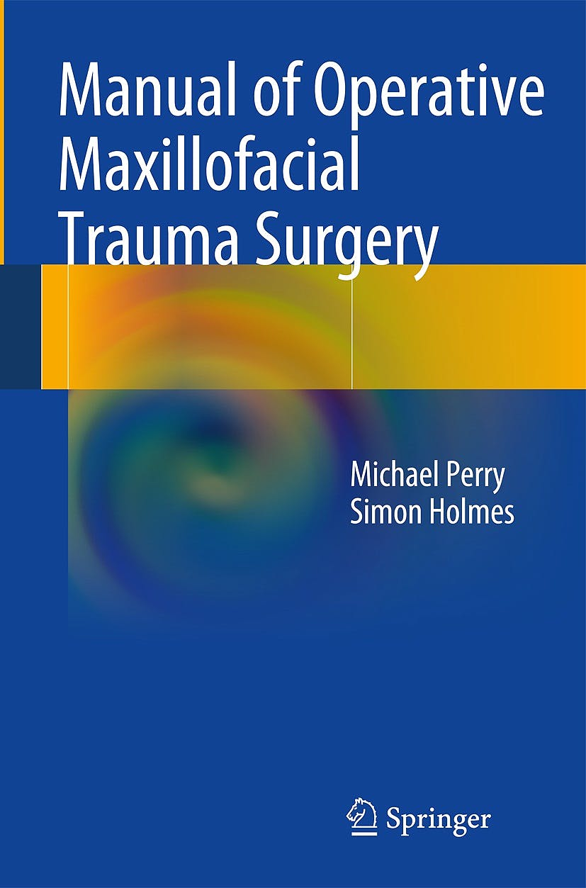 Portada del libro 9783319044583 Manual of Operative Maxillofacial Trauma Surgery