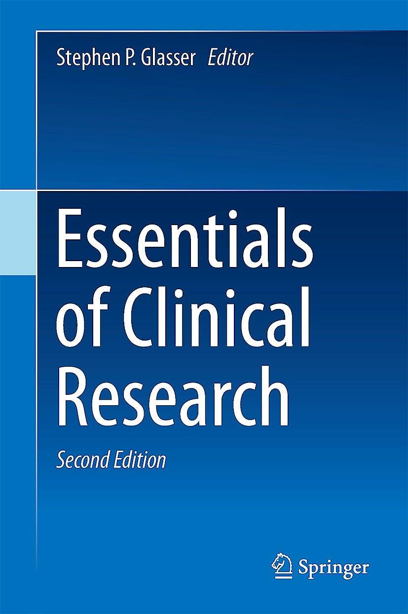 Portada del libro 9783319054698 Essentials of Clinical Research