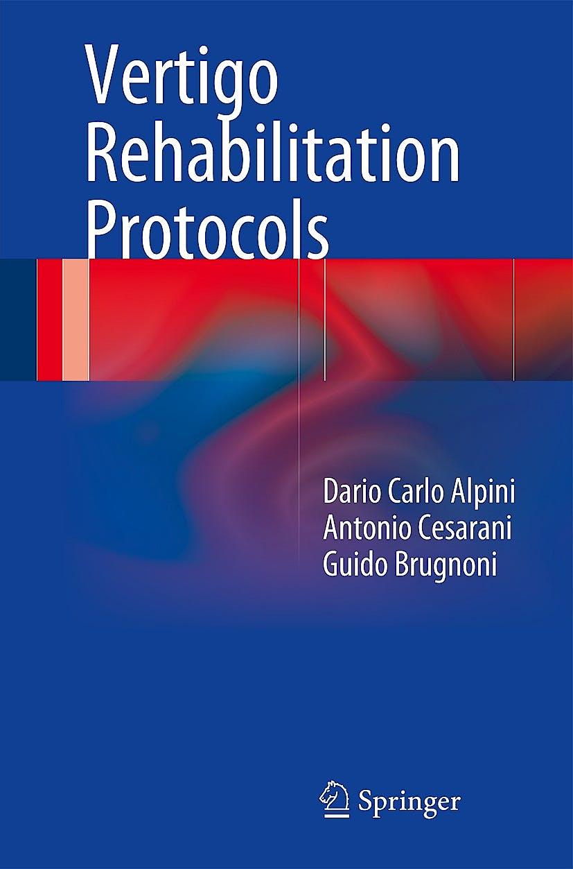 Portada del libro 9783319054810 Vertigo Rehabilitation Protocols