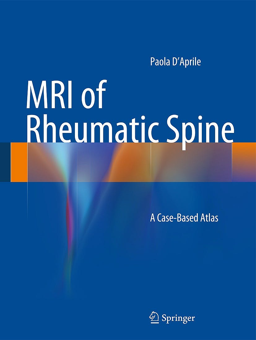 Portada del libro 9783319056265 Mri of Rheumatic Spine. a Case-Based Atlas