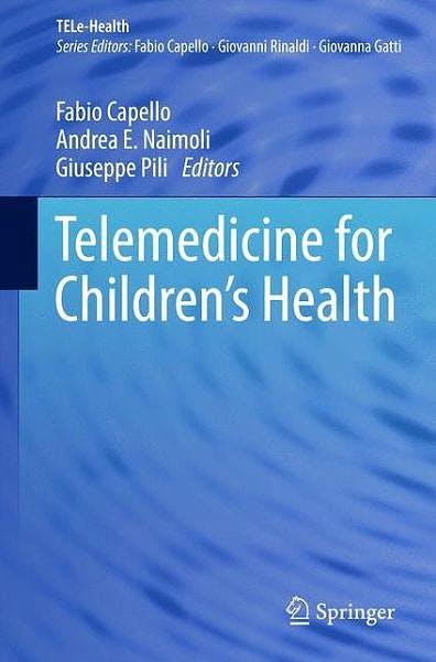 Portada del libro 9783319064888 Telemedicine for Children's Health (Tele-Health)