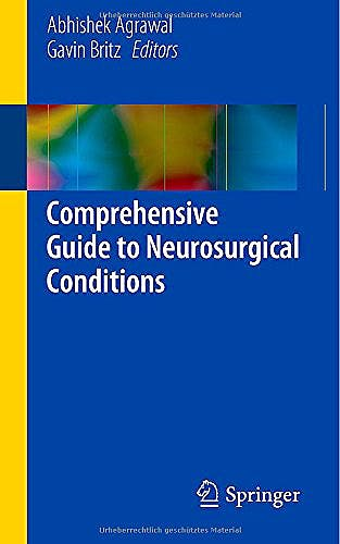 Portada del libro 9783319065656 Comprehensive Guide to Neurosurgical Conditions