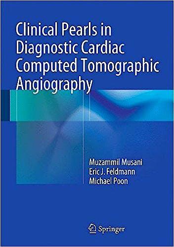 Portada del libro 9783319081670 Clinical Pearls in Diagnostic Cardiac Computed Tomographic Angiography