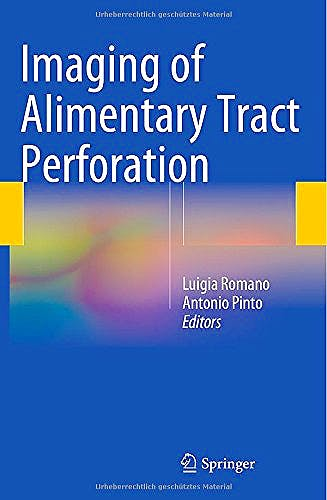 Portada del libro 9783319081915 Imaging of Alimentary Tract Perforation