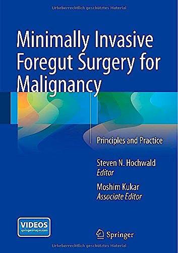 Portada del libro 9783319093413 Minimally Invasive Foregut Surgery for Malignancy