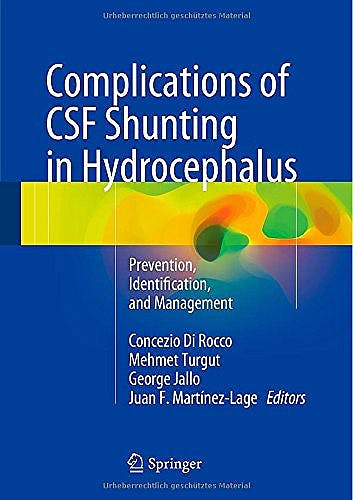 Portada del libro 9783319099606 Complications of Csf Shunting in Hydrocephalus. Prevention, Identification and Management