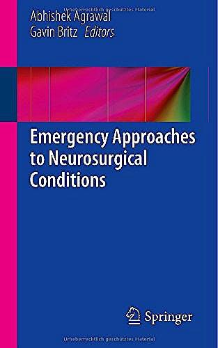 Portada del libro 9783319106922 Emergency Approaches to Neurosurgical Conditions