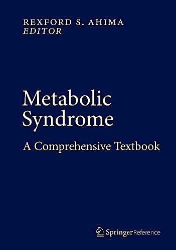 Portada del libro 9783319112503 Metabolic Syndrome. A Comprehensive Textbook