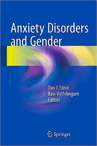 Portada del libro 9783319130590 Anxiety Disorders and Gender