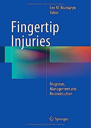 Portada del libro 9783319132266 Fingertip Injuries. Diagnosis, Management and Reconstruction