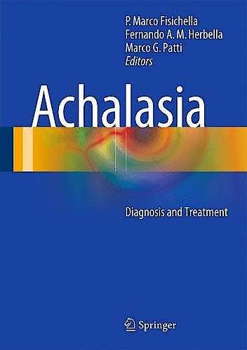 Portada del libro 9783319135687 Achalasia. Diagnosis and Treatment