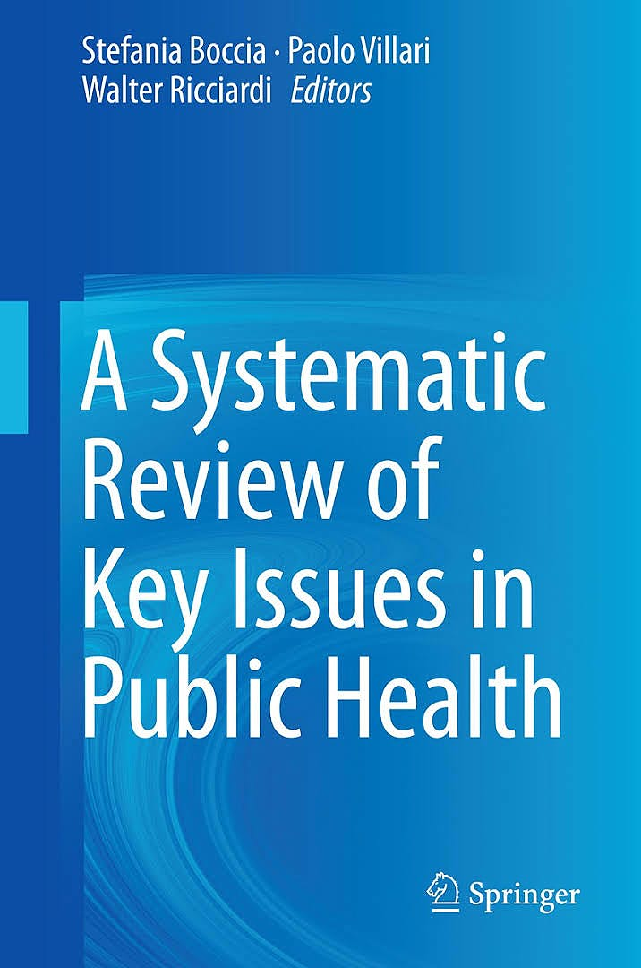 Portada del libro 9783319136196 A Systematic Review of Key Issues in Public Health