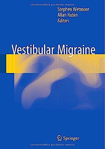 Portada del libro 9783319145495 Vestibular Migraine