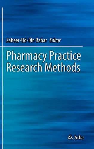 Portada del libro 9783319146713 Pharmacy Practice Research Methods