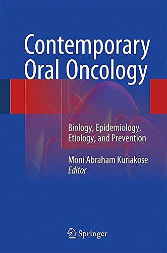 Portada del libro 9783319149103 Contemporary Oral Oncology. Biology, Epidemiology, Etiology, and Prevention
