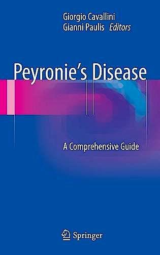 Portada del libro 9783319172019 Peyronie's Disease. a Comprehensive Guide
