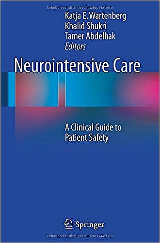 Portada del libro 9783319172927 Neurointensive Care. A Clinical Guide to Patient Safety