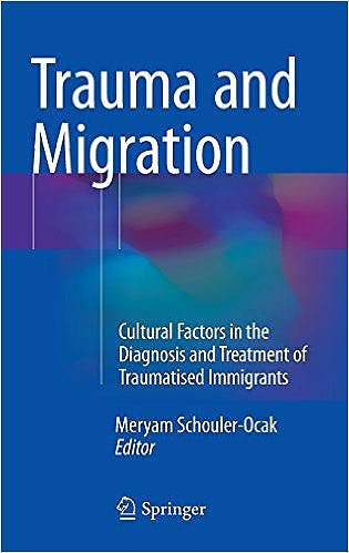 Portada del libro 9783319173344 Trauma and Migration. Cultural Factors in the Diagnosis and Treatment of Traumatised Immigrants