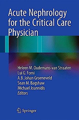 Portada del libro 9783319173887 Acute Nephrology for the Critical Care Physician