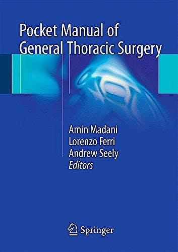 Portada del libro 9783319174969 Pocket Manual of General Thoracic Surgery