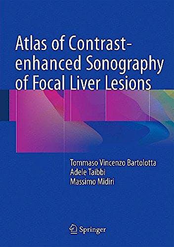 Portada del libro 9783319175386 Atlas of Contrast-Enhanced Sonography of Focal Liver Lesions