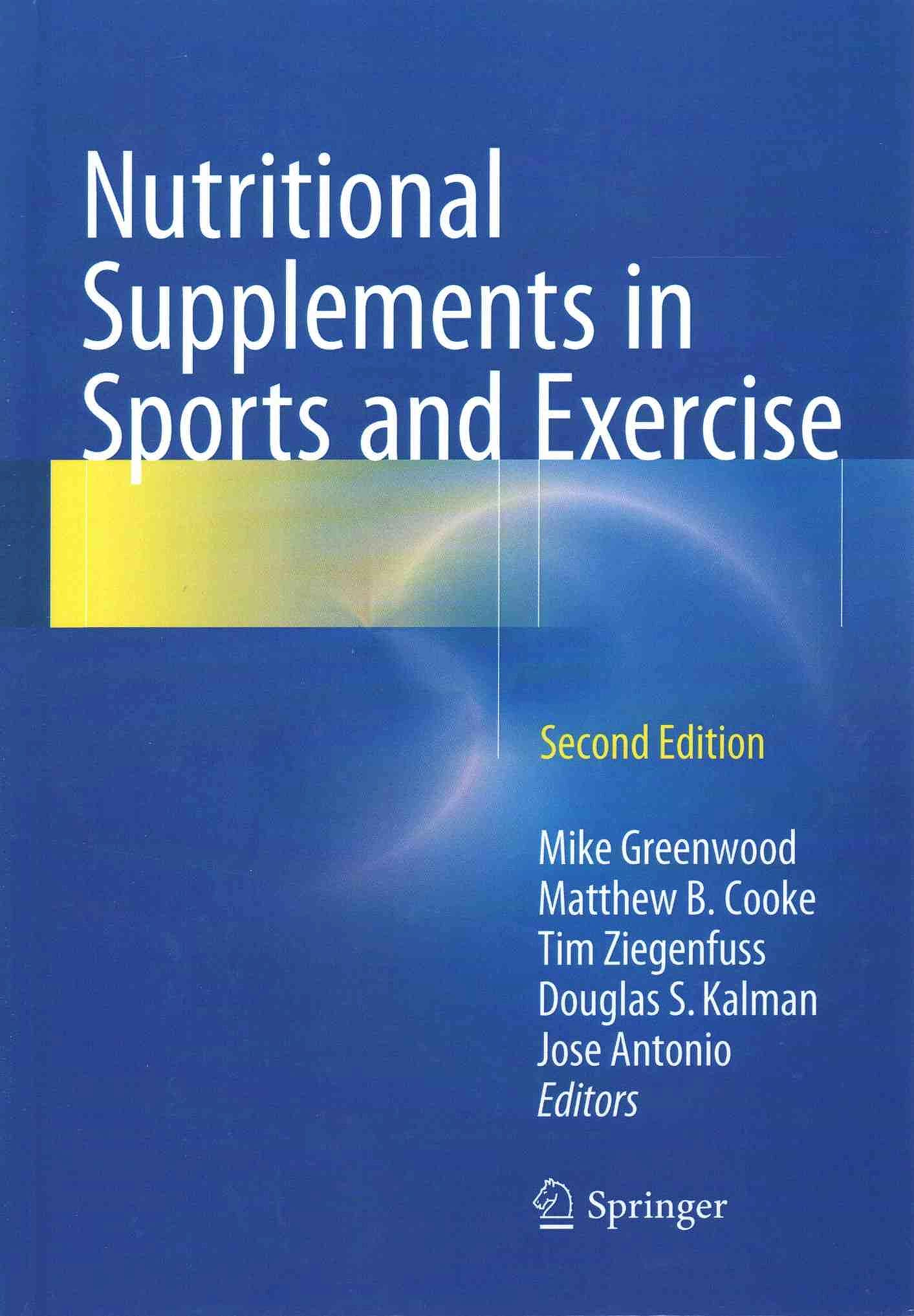 Portada del libro 9783319182292 Nutritional Supplements in Sports and Exercise