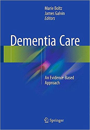 Portada del libro 9783319183763 Dementia Care. an Evidence-Based Approach