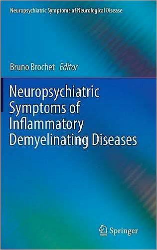 Portada del libro 9783319184630 Neuropsychiatric Symptoms of Inflammatory Demyelinating Diseases (Neuropsychiatric Symptoms of Neurological Disease)