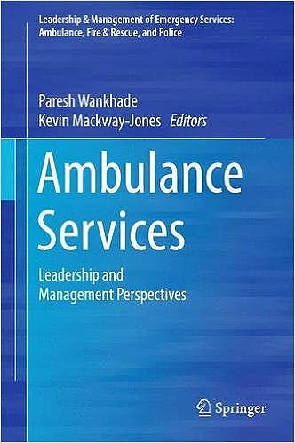Portada del libro 9783319186412 Ambulance Services. Leadership and Management Perspectives