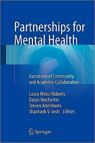 Portada del libro 9783319188836 Partnerships for Mental Health. Narratives of Community and Academic Collaboration
