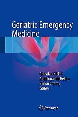 Portada del libro 9783319193175 Geriatric Emergency Medicine
