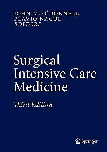Portada del libro 9783319196671 Surgical Intensive Care Medicine