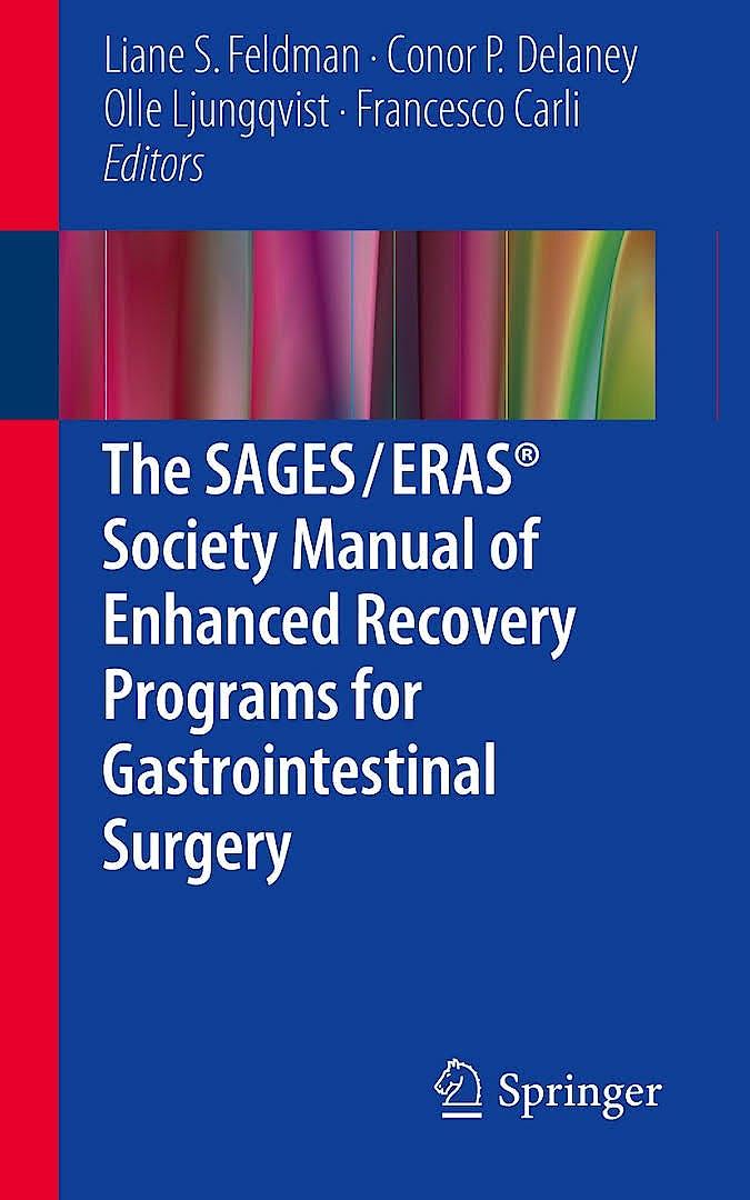 Portada del libro 9783319203638 The Sages/eras Society Manual of Enhanced Recovery Programs for Gastrointestinal Surgery