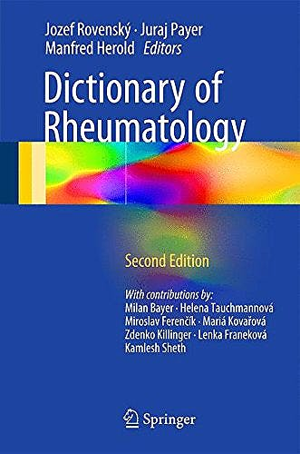 Portada del libro 9783319213347 Dictionary of Rheumatology