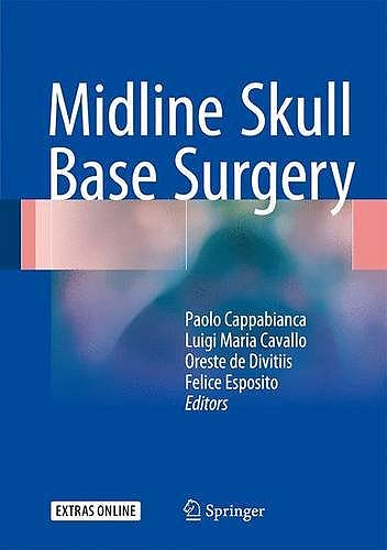 Portada del libro 9783319215327 Midline Skull Base Surgery