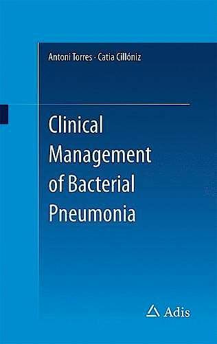 Portada del libro 9783319220611 Clinical Management of Bacterial Pneumonia