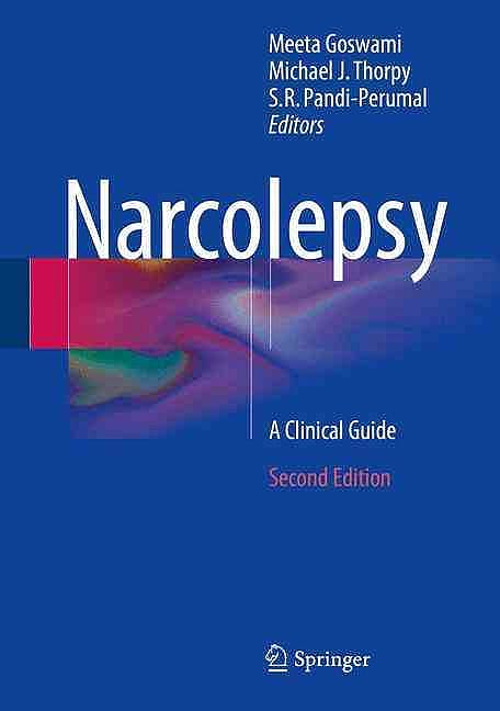 Portada del libro 9783319237381 Narcolepsy. a Clinical Guide