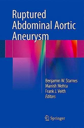 Portada del libro 9783319238432 Ruptured Abdominal Aortic Aneurysm