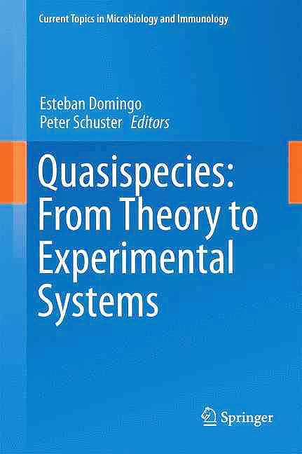Portada del libro 9783319238975 Quasispecies. From Theory to Experimental Systems