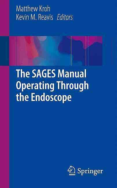 Portada del libro 9783319241432 The Sages Manual Operating through the Endoscope