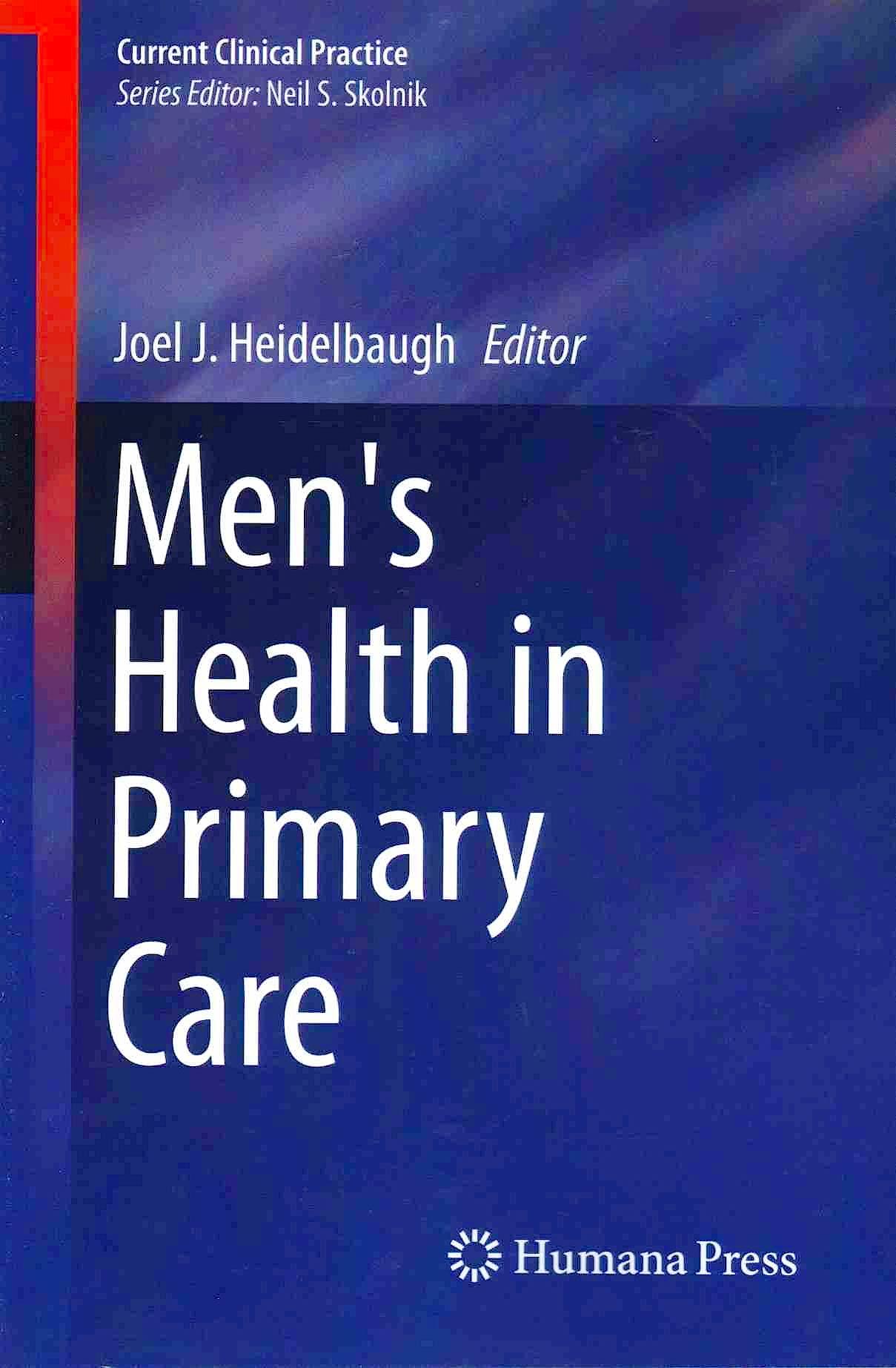 Portada del libro 9783319260891 Men´s Health in Primary Care