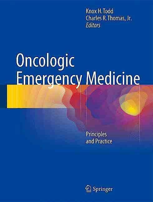 Portada del libro 9783319263854 Oncologic Emergency Medicine. Principles and Practice